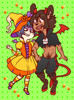 More Solanaceae Halloween 2015 by DarkChibiShadow