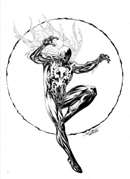 Spider-Man 2099 - aug8th2014 by SpiderGuile