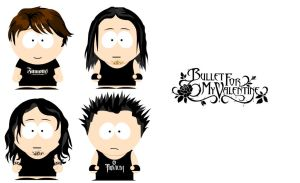 SP Bullet for my Valentine by rockadio