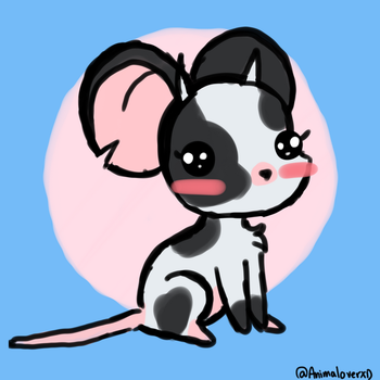 Cow Mouse by AnimaloverXD