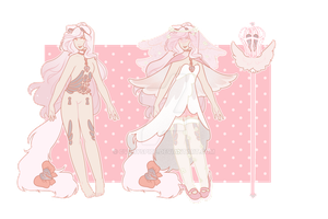 custom | pink angel by cvrryspice