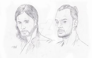 30 Seconds To Mars: The Leto Brothers by StevenWilcox