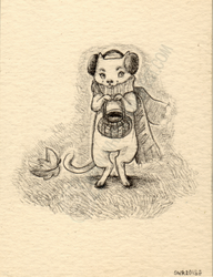 The Mouse ACEO by shidonii