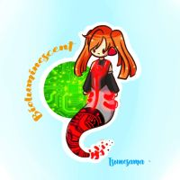 Mermay Day 13 - Bioluminescent ~ by Tsunesamaa