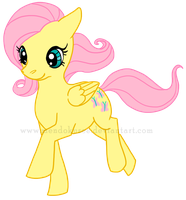 Fluttershy by Mendokusee