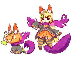 ~Special Halloween adopt~ [CLOSED] by Ashewness