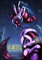 Gravity is for silly ponies by Zolombo