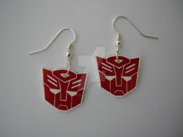 Autobot Earrings by Letohatchee