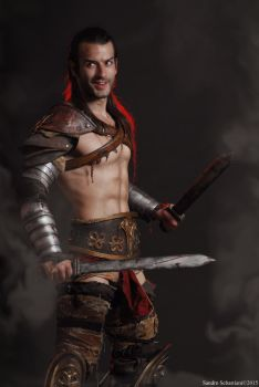NEW - Gannicus Cosplay from Spartacus Vengeance by LeonChiroCosplayArt