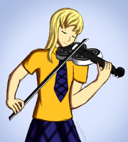 ZP: She Can Play The Violin Now by CyanoDrake