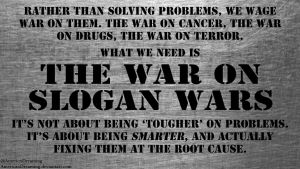 The War on Slogan Wars by AmericanDreaming