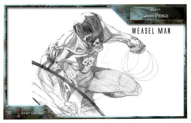Concept for Weasel Man Pg 2 by jeffreyedwards