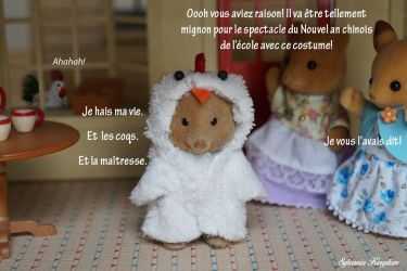 Sylvanian families Chinese New Year by dandlit