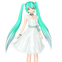White Eve Miku by Malik-Hatsune