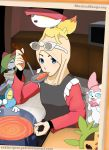 Pokemon X and Y : Preparing Lunch by Rahimi-AF