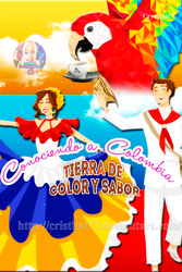 Cover Book Colombia Tierra linda by Cristhal17