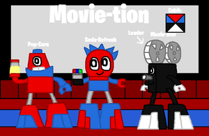 Mixels: OC's tribes: Movie-tion by Luqmandeviantart2000