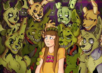 Welcome to Springtrap's Paradise by PinkFlam17