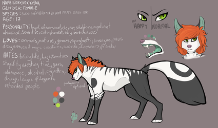 NOXY REFERENCE SHEET 2016 by N-o-x-y