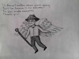 May You Rest in Peace, Terry Pratchett by TheDraconian