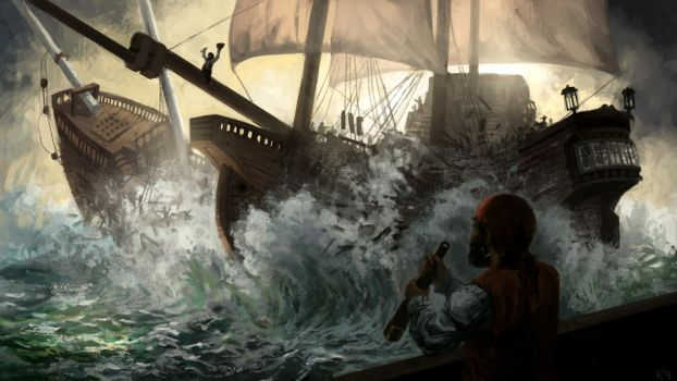 Pirate Collision by k4Orta