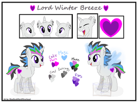 Lord Winter Ref [COM] by BlueBookWard