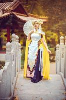 Chenogasm Mercy - Overwatch by Shappi