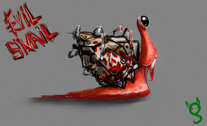 Evilsnail by gifron
