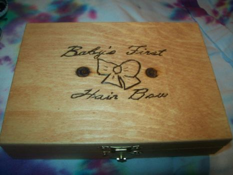baby's First Bow Box Large by CheriesBowsNThings