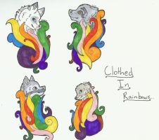 Clothed In Rainbows... by LoveEccentric