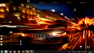 Car Fire Rogers1967 Rainmeter by Rogers1967