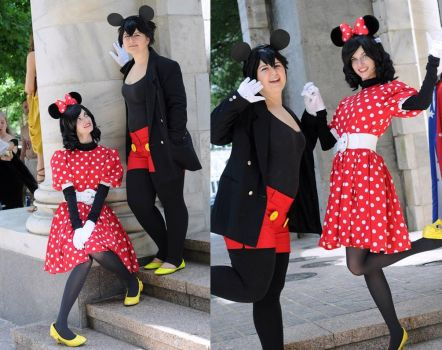 Mickey and Minnie Forever by Juju-gurl