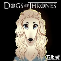 Dog of Thrones - Daeneris by MZ09