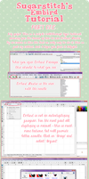 Embird Digitizing Tutorial Part One by sugarstitch