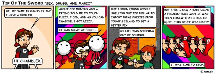 Sex, Drugs, and Mario by tipofthesword