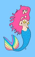 Pretty Mermaid by weirdklown