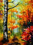Soul Time by Leonid Afremov by Leonidafremov