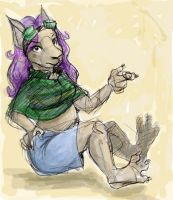 Sketchtastic Alissa - for Maur by dani-kitty