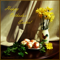 Happy Orthodox Easter by AnnaZLove