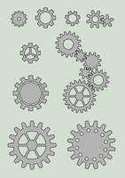 Gear wheels stock by adoomer