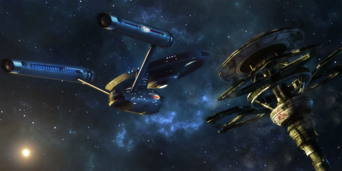 War's End.. POTEMKIN approaches Starbase 24 by StalinDC