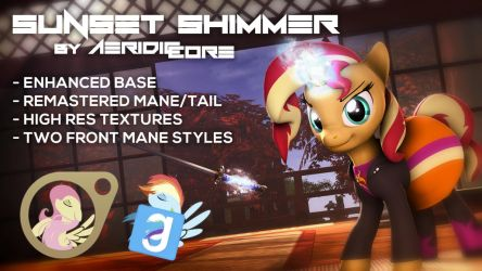 [DL] Sunset Shimmer Ultimate Overhaul by AeridicCore