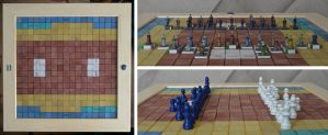 Suffragetto - Board and Pieces by paul-rosenkavalier