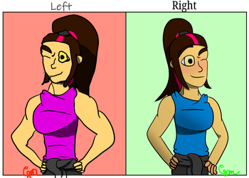Left Hand Right Hand Challenge by CJ-the-Artist