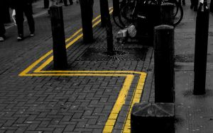 Follow the yellow lines by IanBlack