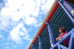 girl and the blue sky by esee