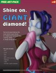 Shine On Giant Diamond! by made-in-donuts