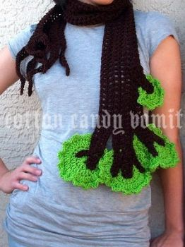 Tree Scarf by cottoncandyvomit