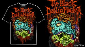 THE BLACK DAHLIA MURDER by mrchugchug