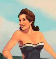 PIN UP WWII WIP by Brashen